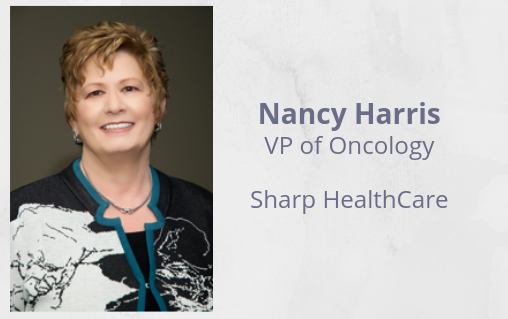 association of cancer executives webinar Nancy Harris sharp healthcare